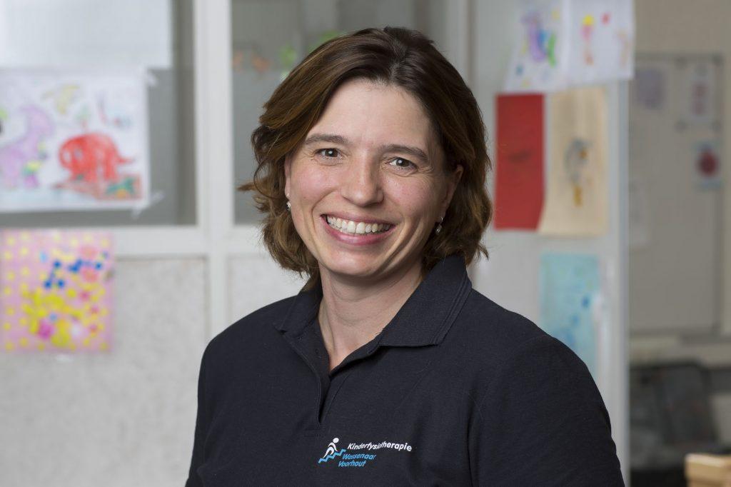 Linda van Kesteren - Kinderfysiotherapie Wassenaar [Fotografie Michel Porro]